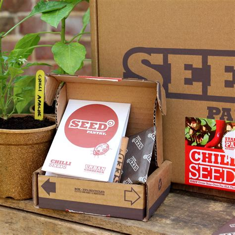 Seed Pantry by Chilli Seeds Starter Pack By Seed Pantry