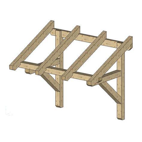door overhang wood canopy door canopy kits