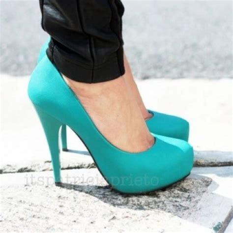 shoes blue blue pretty light blue high