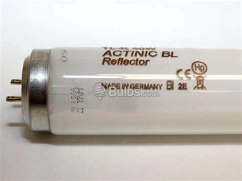 Lu Tl 40 Watt Philips philips 40 watt 24 quot t12 actinic fluorescent bulb actinic bl tl k 40w 10 r bulbs
