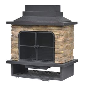 Outdoor Gas Fireplace Lowes by Garden Treasures Pit Firebowl From Lowes Firepits