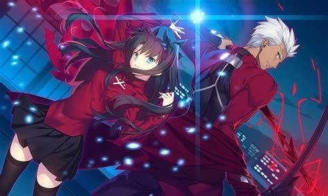 fate stay night hd wallpaper anime new tab free addons tohsaka rin archer fate stay night fate series fate