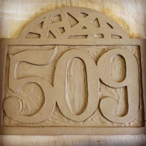 Ceramic House Numbers by 25 Best Ideas About Handmade Ceramic On