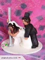 wedding cake topper funny raunchy wedding cake topper