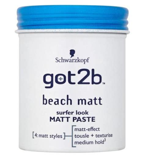 schwarzkopf matt clay hair putty paste hair styling hair