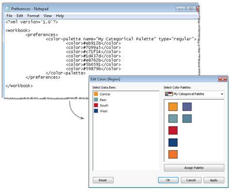 tableau expert info how to create a custom color palette