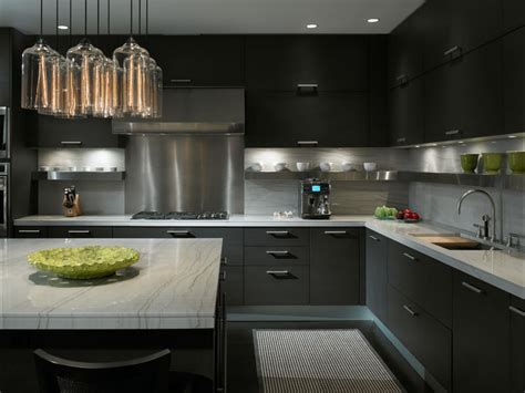 charcoal kitchen cabinets sleek charcoal gray kitchen cabinetry with color