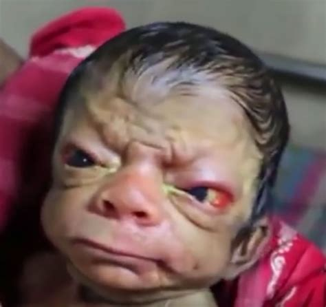 Baby Born Hers is surprised when she sees baby s but then