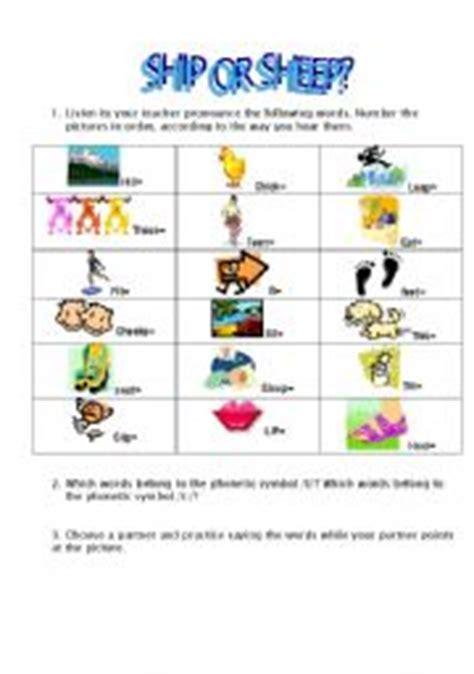 ship or sheep pdf english worksheets ship or sheep