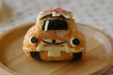Bento Mini Car Rice Limited food saturday recipes and cooking