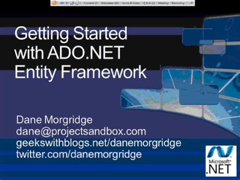 mastering entity framework 2 0 dive into entities relationships querying performance optimization and more to learn efficient data driven development books functional ado net andrewdavey channel 9