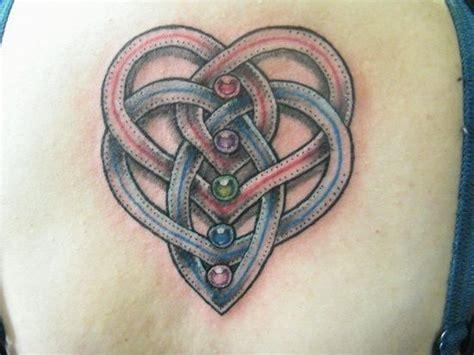 motherhood celtic tattoo husband and wife birthstone
