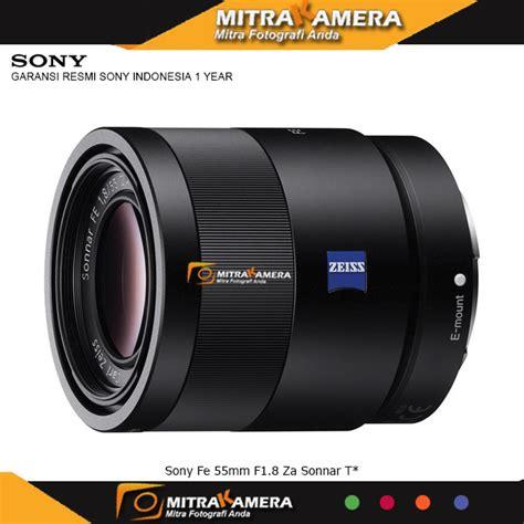 Lensa Sony Fe jual lensa sony fe 55mm f1 8 za sonnar t promo mitrakamera