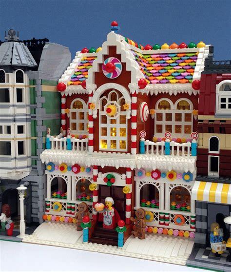 lego gingerbread house building archives legogenre