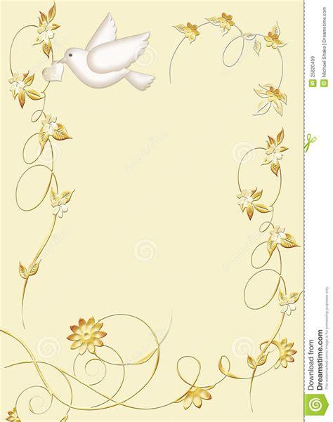 white dove stationery royalty free stock images image