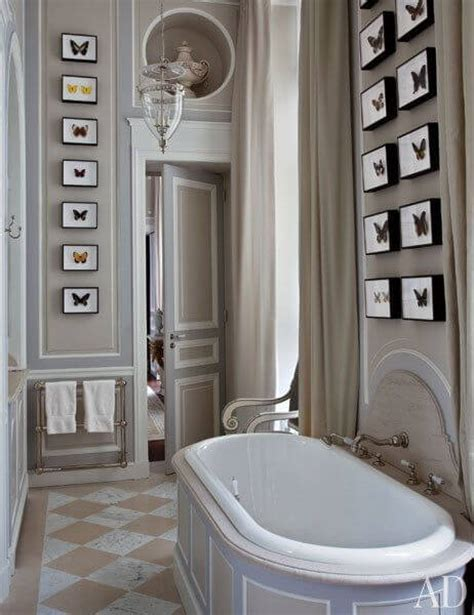 paris style bathroom decor the sophisticated color greige 15 possible combinations
