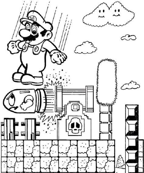 mario coloring pages games mario coloring pages on game for kids coloring pages