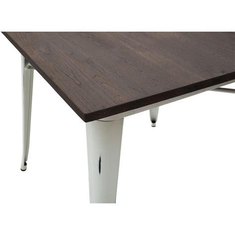 tavolo bianco anticato tavolo moderno quadrato da bar bianco anticato piano legno