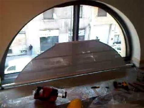 tende per archi rullo motorizzato ad arco