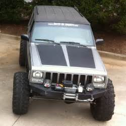 Custom Jeep Xj In By Popular Demand Blackout Hoods For Jeep Xj