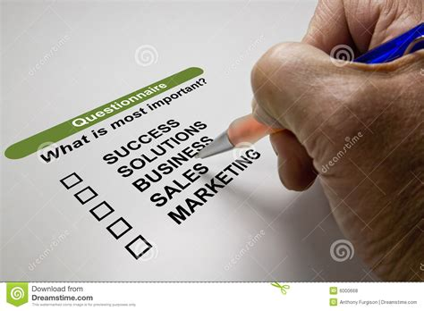 Business Survey - business survey royalty free stock photos image 6000668