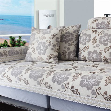 chenille sofa covers chenille sectional cover on couch jacquard flocked sofa