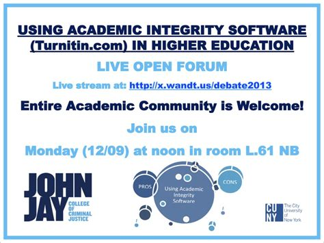 online tutorial on academic integrity academic technology in higher education technologies to
