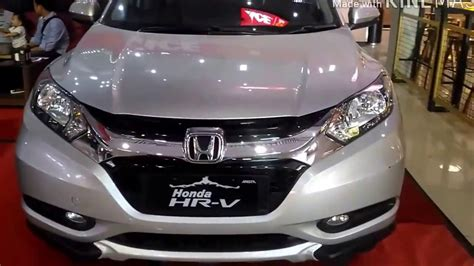Honda Hrv E 1 5 Cvt honda hrv 1 5 e cvt indonesia fiat world test drive