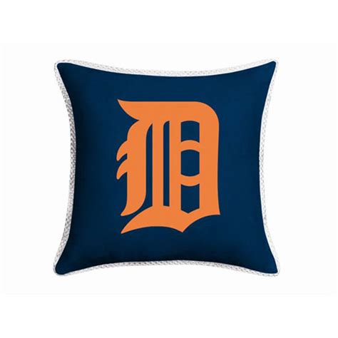detroit tigers bedding detroit tigers mlb microsuede 18 quot toss pillow