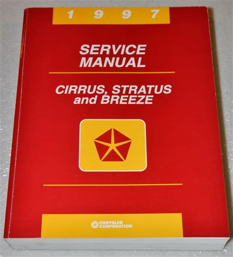 service repair manual free download 1997 plymouth breeze interior lighting 1997 chrysler cirrus lx lxi dodge stratus plymouth breeze shop service manual 97 ebay