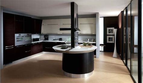 Oval Kitchen Island by Hi Tech Interior Style Overview Small Design Ideas