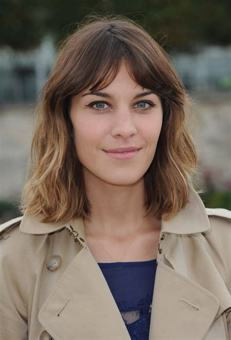 alexa chung hairstyles bob hairstyles for 2015 33 bob cuts that look great on