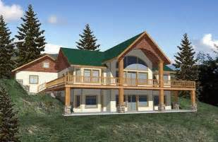 daylight basement house plans home on hill w daylight basement building the