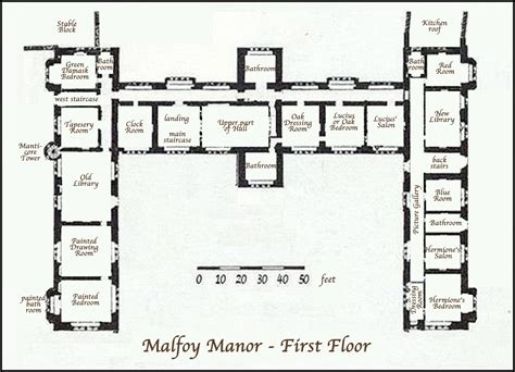 Medieval Manor House Floor Plan Malfoy Manor Floor Plan Www Pixshark Com Images
