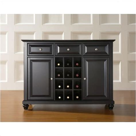 Buffet Server Wine Rack by Buffet Table With Wine Rack