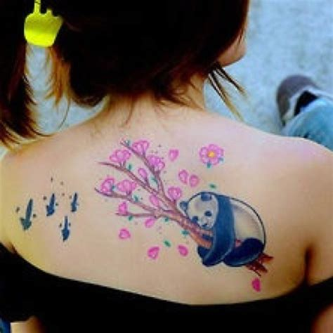 tattoo panda girl 25 awesome panda bear tattoo ideas