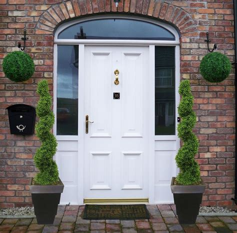 Front Door Topiary by Topiaries For Front Porch Home Design Interior Design