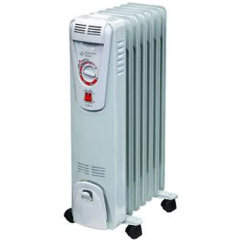 comfort zone portables comfort zone 1 500 watt electric oil filled radiant