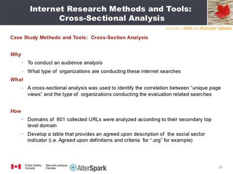 how to conduct a cross sectional study canadian evaluation society presentation 2011 final ppt