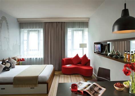 apartment mit 1 schlafzimmer dekorieren ideen 140 bilder einzimmerwohnung einrichten archzine net