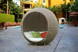 Small Comfortable Bedroom Chairs Ball Wicker Bed Wicker Outdoor Furniture Garden Wicker