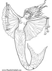 mermaid coloring pages enchanted designs mermaid free
