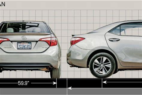 Toyota Corolla Dimensions 2014 Corolla Eco Road Test Autos Post