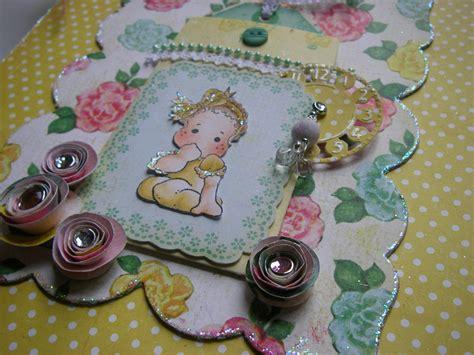 Handmade Craft Site - ooak handmade so sweet baby photo memory scrapbook album