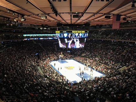 madison square garden section  row  seat