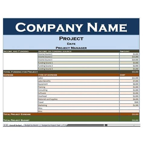 project cost tracking template project budget tracker template excel exle of a