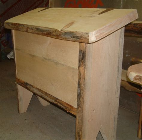 Table For Microwave by Rustic Live Edge Pine Flour Bin And Microwave Table By