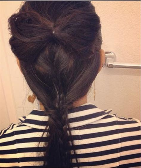 braided hairstyles bow hairstyle bow braid long hairstyles how to