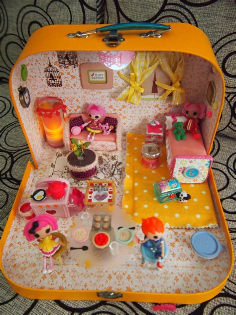 lalaloopsy large doll house scrappalific diy lalaloopsy dollhouse