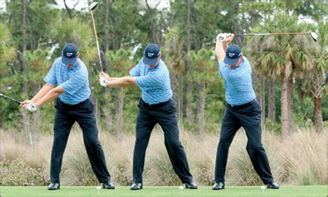 Swing Easy Hit Hard Ernie Els Swing Sequence